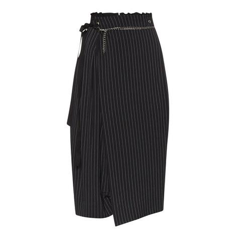 Evolving Pinstripe Skort Culottes, ${color}