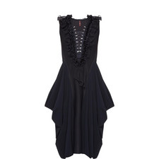Gavote Lace-Up Dress