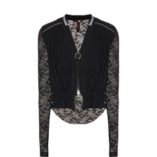 Lace Zip Jacket