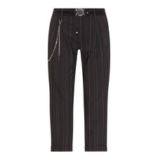 Courage Cropped Pinstripe Trousers