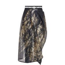 Mesh Tulip Skirt and Leggings Set