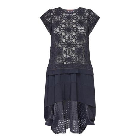 Ellipsis Lace Dress, ${color}