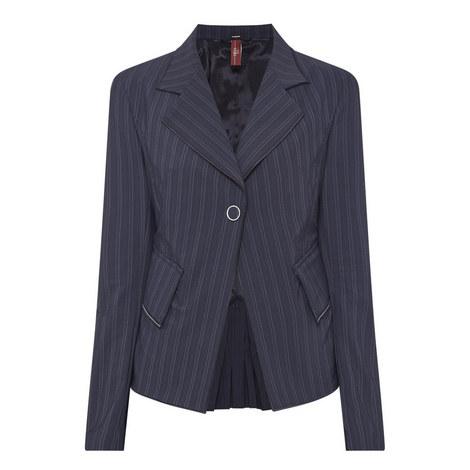 Attache Striped Jacket, ${color}