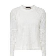Optima Eyelet Sweater