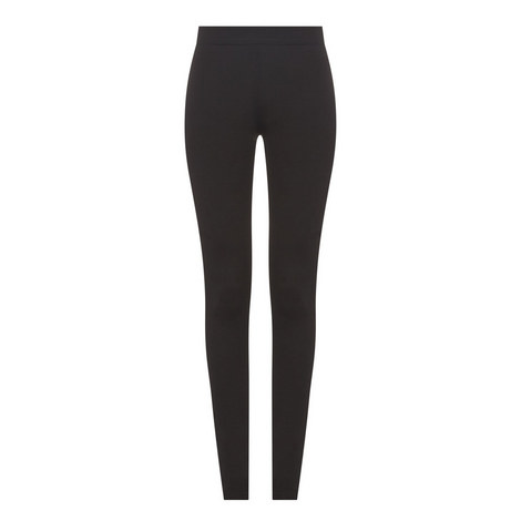 Stretch Knit Jersey Leggings, ${color}