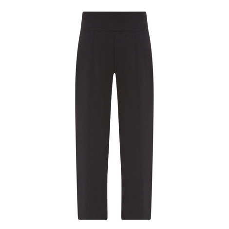 Side Zip Wide Fit Trousers, ${color}