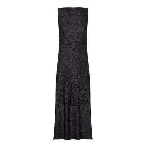 Long Lurex Patterned Dress, ${color}