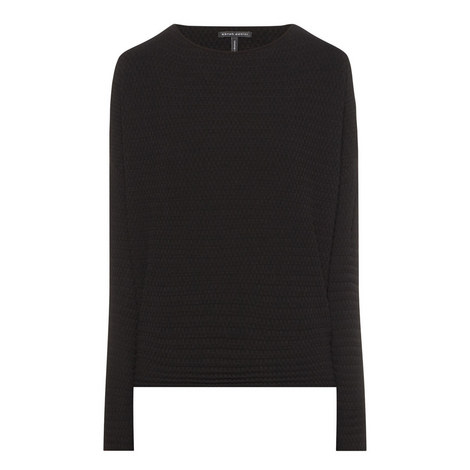 Short Textured Sweater, ${color}