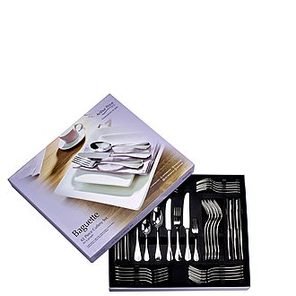 Baguette 42-Piece Cutlery Set