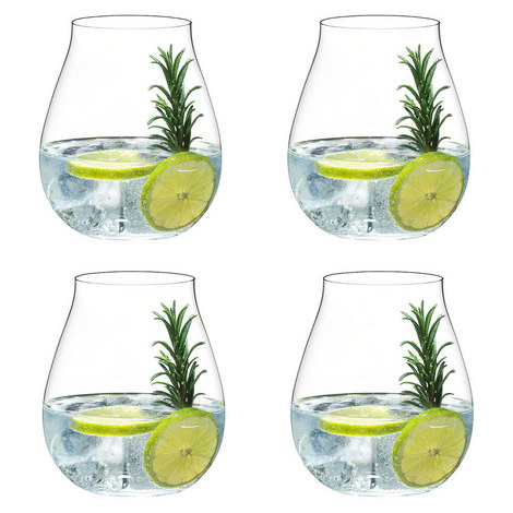Set Of 4 Gin Glasses, ${color}