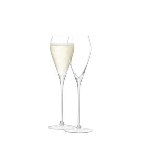 Set of Six Wine Prosecco Glasses, ${color}