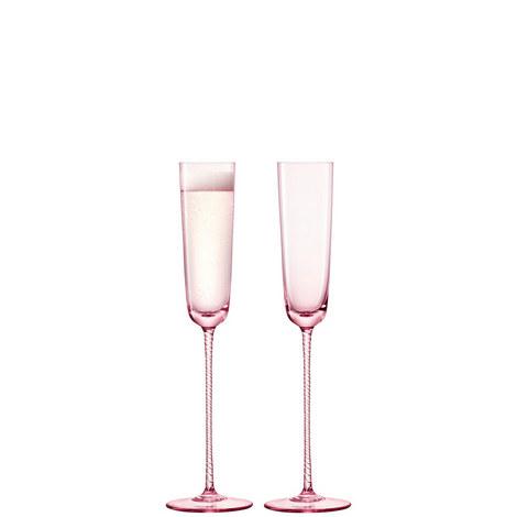 Set of 2 Champagne Flutes, ${color}