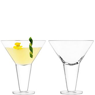 Set of 2 Rum Cocktail Glasses