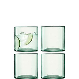 Set of Four Canopy Tumblers
