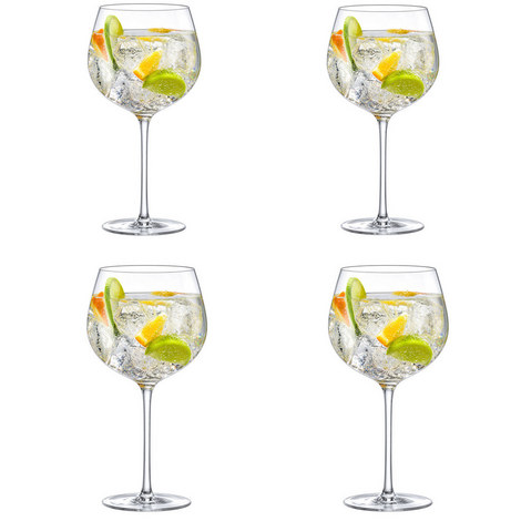 Perfect Gin Set of 4 Glasses, ${color}