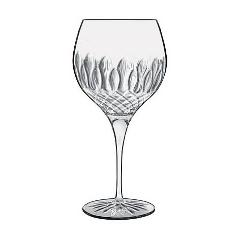 Set of Four Diamante Gin Glasses, ${color}