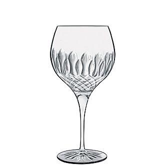 Set of Four Diamante Gin Glasses