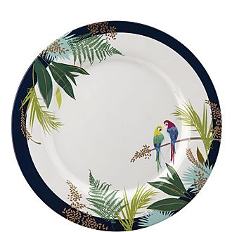 Parrots Dinner Plate