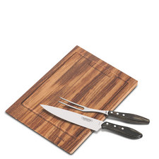 3-Piece Barbecue Carving Board Set