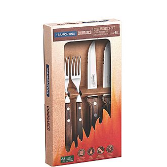 Churrasco 4-Piece Steak Cutlery Set