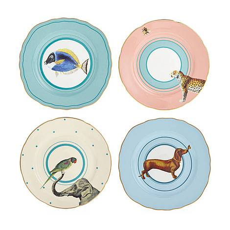 Cake Plates Set of 4, ${color}