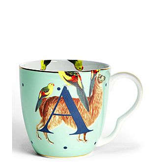 Alphabet Mug A