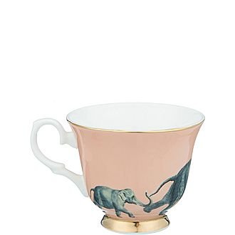 Elephant Tea Cup and Saucer