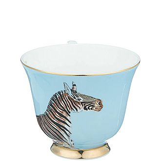 Zebra Tea Cup and Saucer