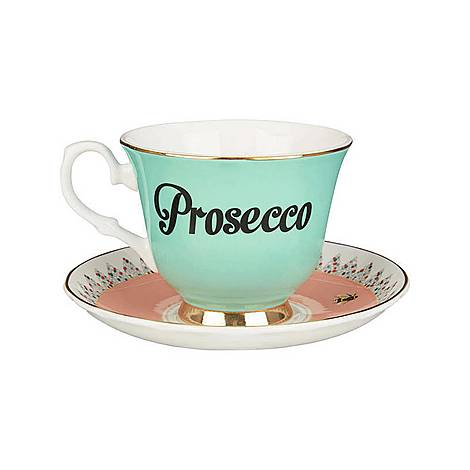 Prosecco Tea Cup and Saucer, ${color}