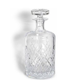 Barwell Cut Crystal Decanter Large