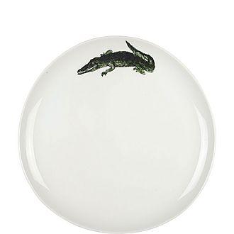Alligator Dinner Plate