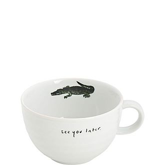 Alligator Cappuccino Cup
