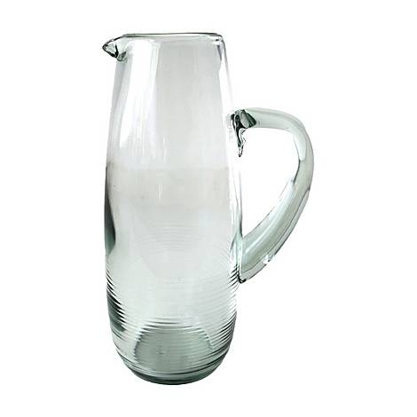 Rippled Glass Pitcher, ${color}