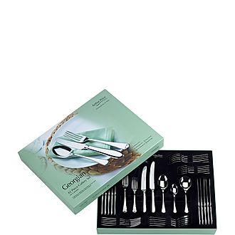 Georgian Forty-Two Piece Cutlery Set