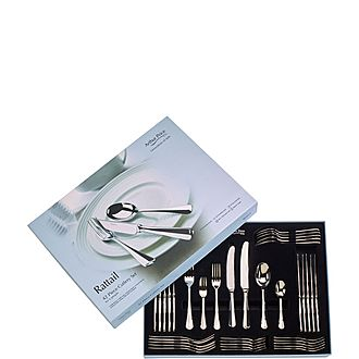 Rattail Forty-Two Piece Cutlery Set