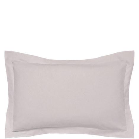 300 Thread Count Cotton Percale Oxford Pillowcase, ${color}