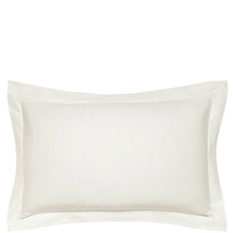 600 Thread Count Cotton Sateen Oxford Pillowcase, ${color}