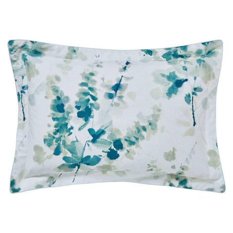 Delphiniums Oxford Pillowcase, ${color}