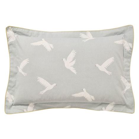 Paper Doves Oxford Pillowcase, ${color}