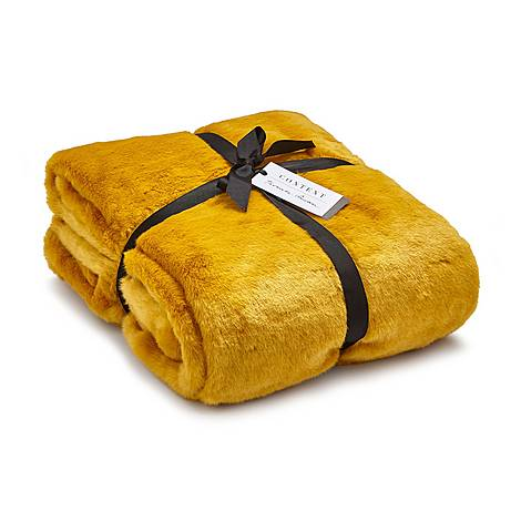 Tactile Ochre Throw, ${color}