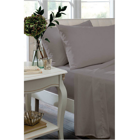Egyptian Sateen 400 Thread Count Flat Sheet, ${color}