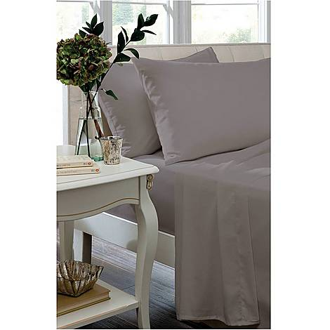 Percale 200 Thread Count Housewife Pillowcase, ${color}