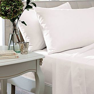 Percale 200 Thread Count Oxford Pillowcase