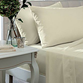 Percale 200 Thread Count Fitted Sheet