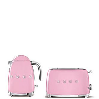Smeg Pink Set