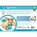Supreme Gel Memory Foam Pillow, ${color}