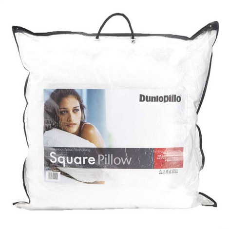 Spiral Fibre Square Pillow, ${color}
