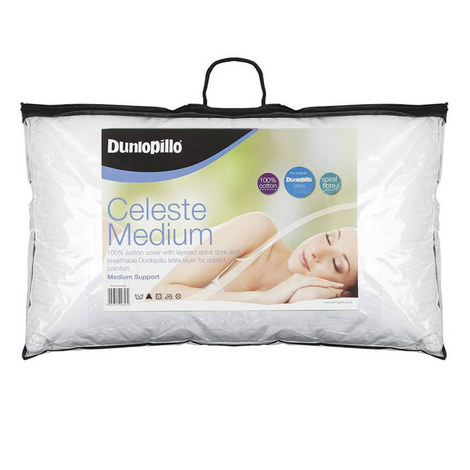 Celeste Medium Support Pillow, ${color}