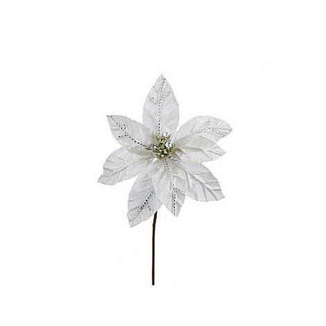 Beaded Poinsettia Decoration, ${color}