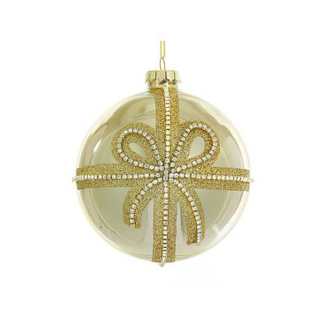 Ribbon Jewelled Bauble, ${color}